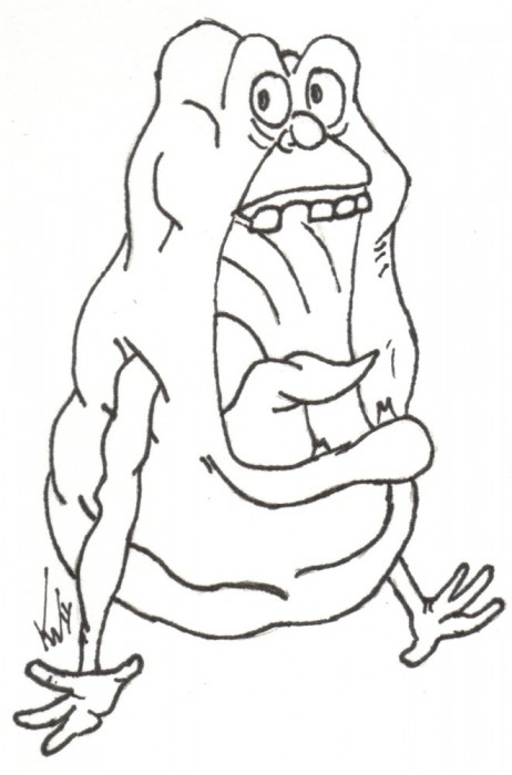 free ghostbusters coloring pages - photo#31